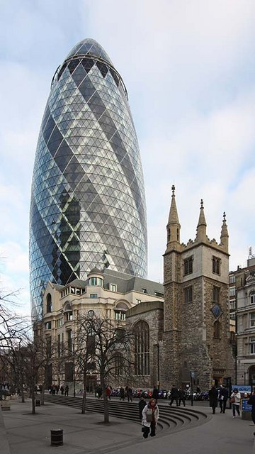 St Andrew Undershaft, St Mary Axe, London EC3