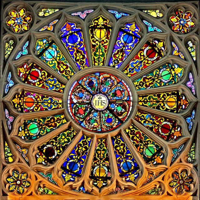 how to make a rose window