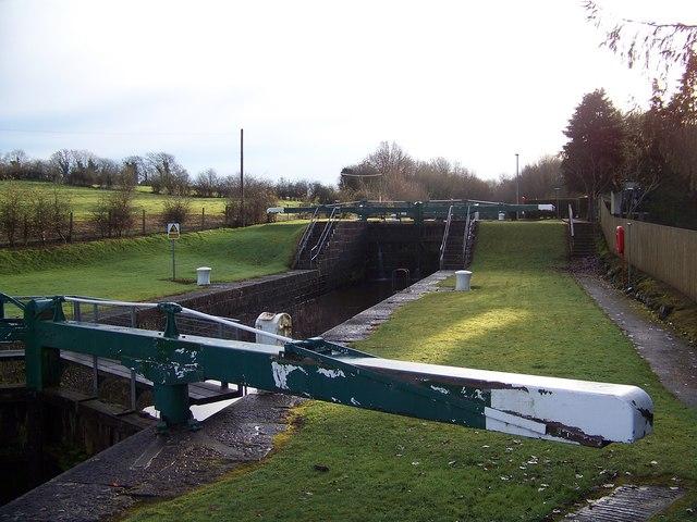 Locks gates at Portna