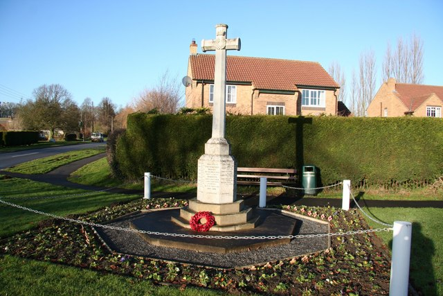 East Barkwith War Memorial
