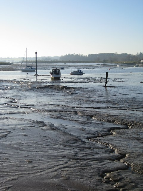The banks of the River Deben