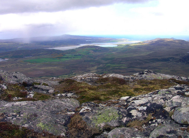 Ben Hiel Summit, looking towards Kyle of Tongue