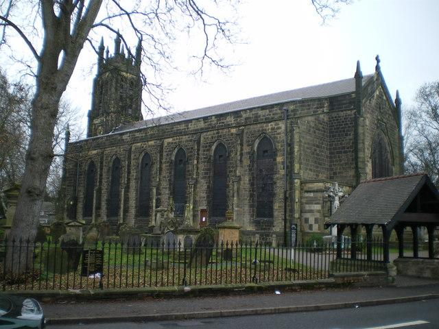 Christ Church, Coseley © Richard Law :: Geograph Britain ...