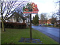 TL2862 : Papworth Everard Village Sign by Adrian Cable