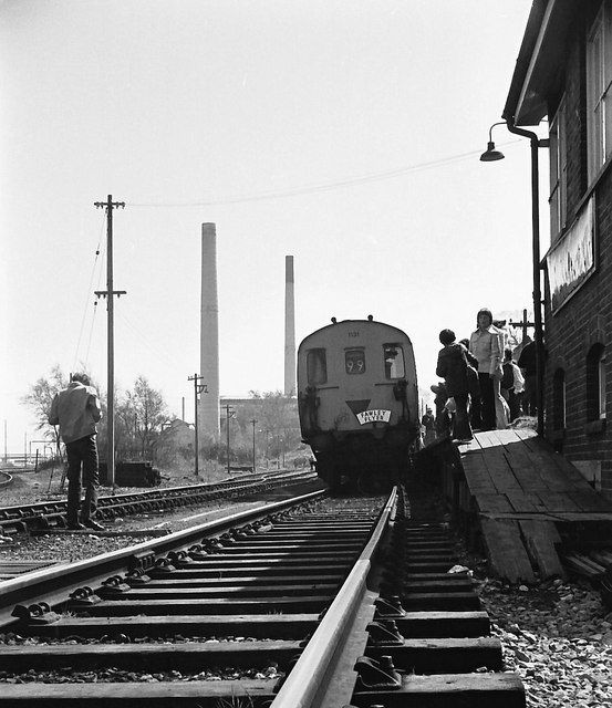 The Fawley Flyer Railtour.