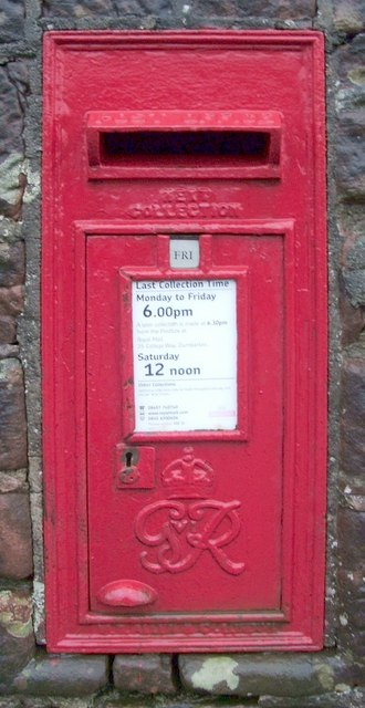 Georgian Postbox