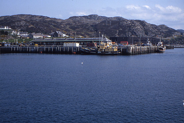 Kyle of Lochalsh station, in 1992