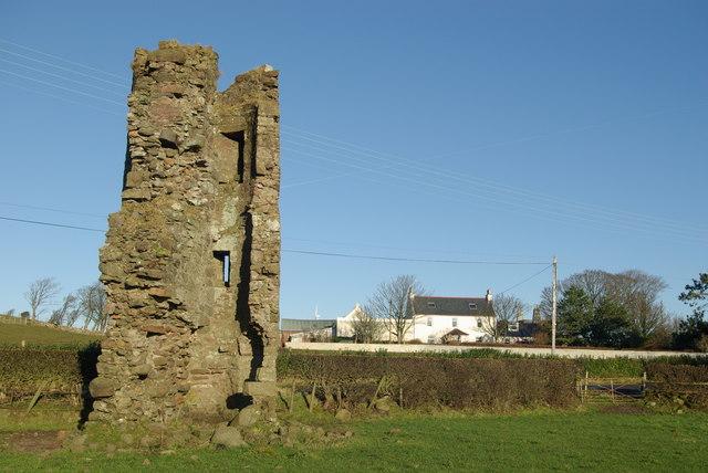 Montfode Castle & farm