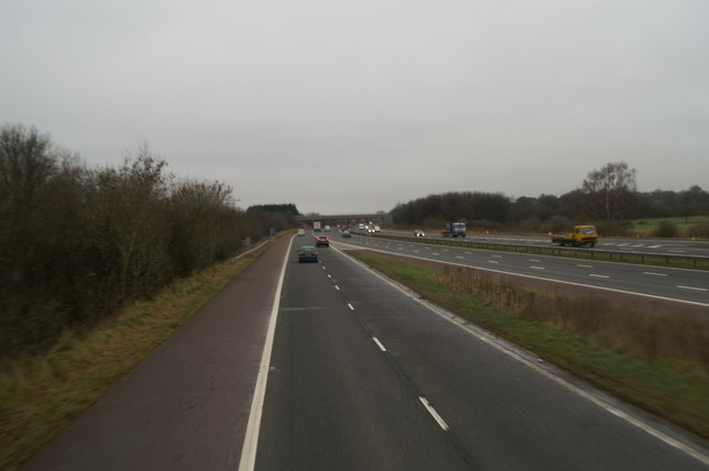 Junction 8, M61, northbound