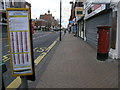 SZ1191 : Boscombe: postbox № BH1 107, Christchurch Road by Chris Downer