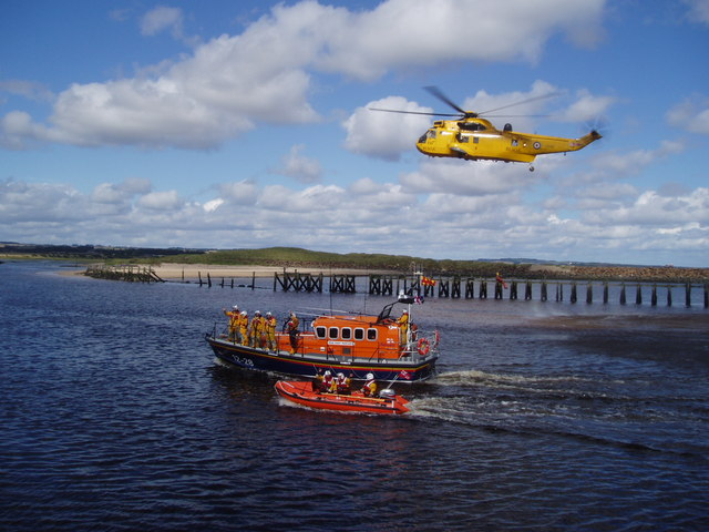 Lifeboat Day, Amble