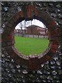 TQ3206 : Through the Round Window by Simon Carey