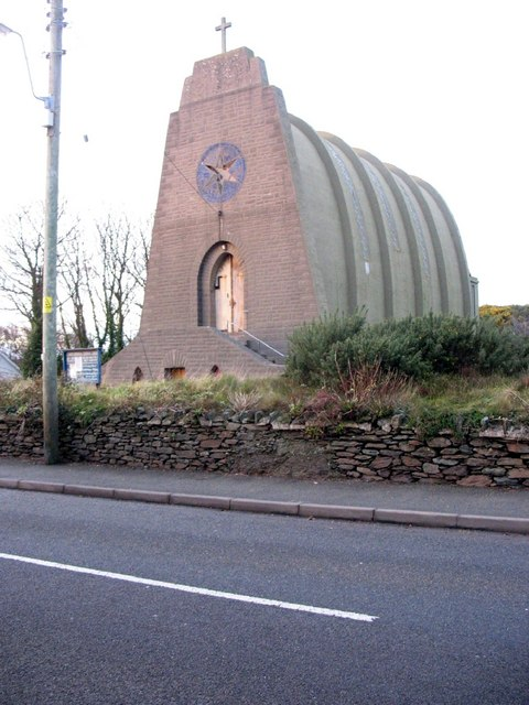 """Paddy's Boat"" -  the Amlwch Catholic Church, Porthllechog Road"