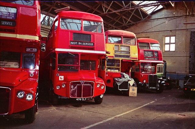 Twickenham Bus Garage