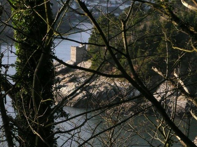 Kingswear Castle from the SW coastal path