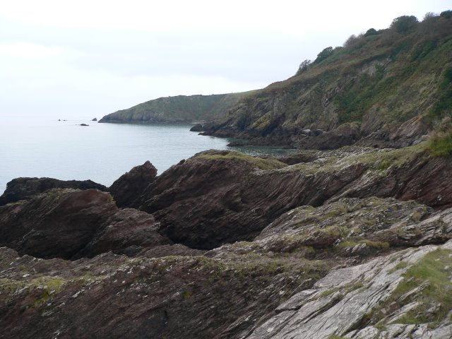 Walking the SW coastal path - heading for Compass Cove