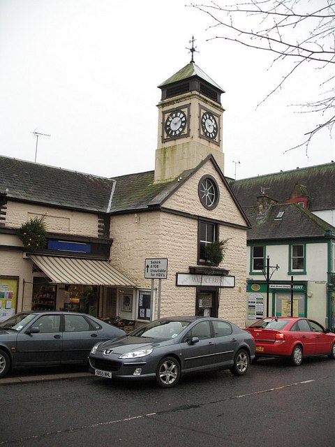 The Old Jail and Courthouse, Moffat