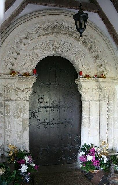 St Mary's Church: south door