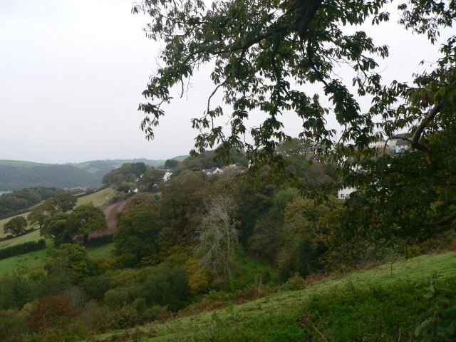 View to the north of Townstal