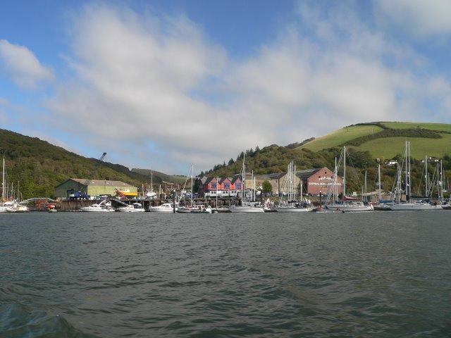 Phillips & Son's Shipbuilders on the Dart Estuary