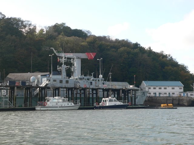 Naval depot, Dartmouth