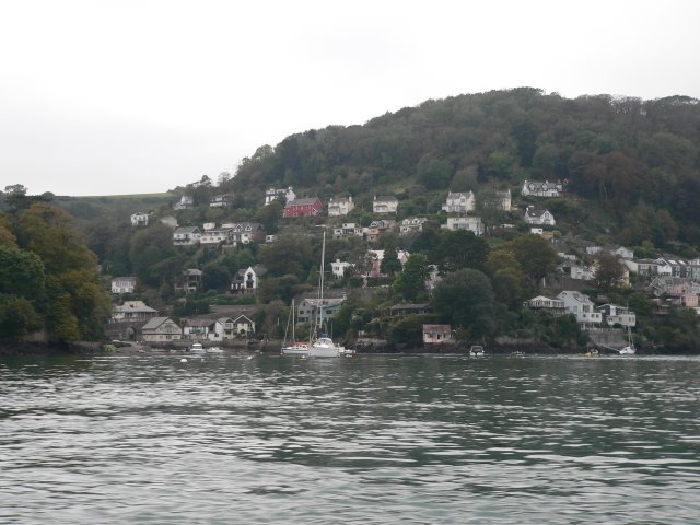 Warfleet from the castle ferry