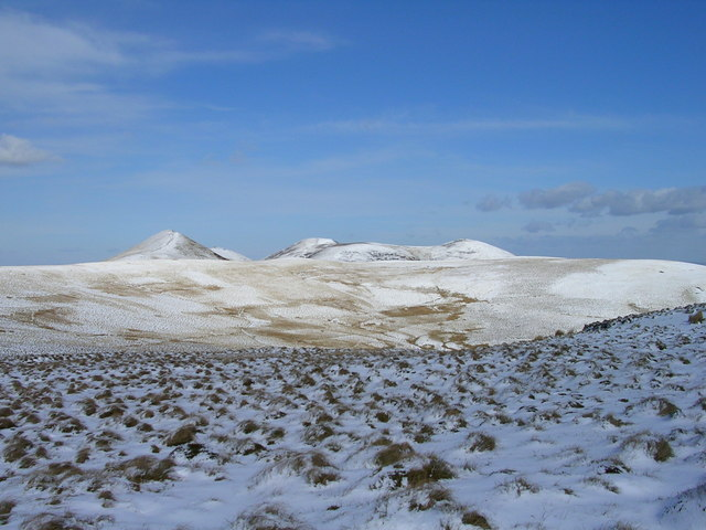 Snow Covered Pentlands