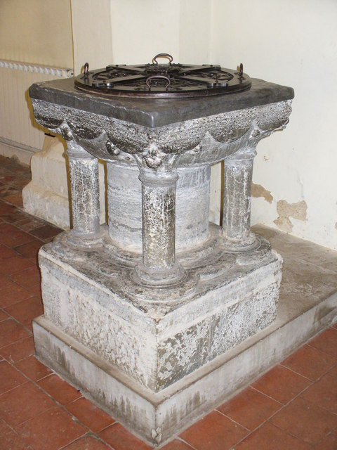 Font, St James, Shere