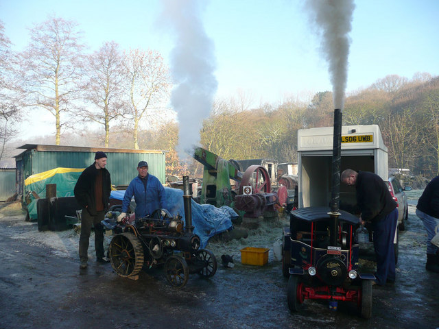 Steam Rally at Wortley Top Forge