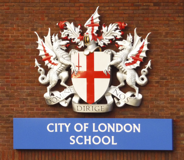 Image result for city of london school crest