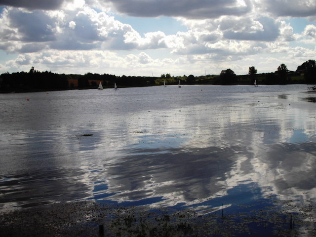 A view of the Cransley Reservoir