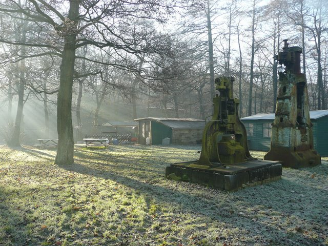Steam Hammers at Wortley Top Forge