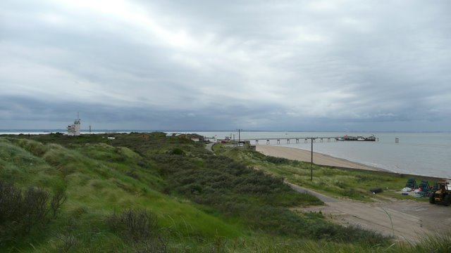Panoramic view of Spurn Point