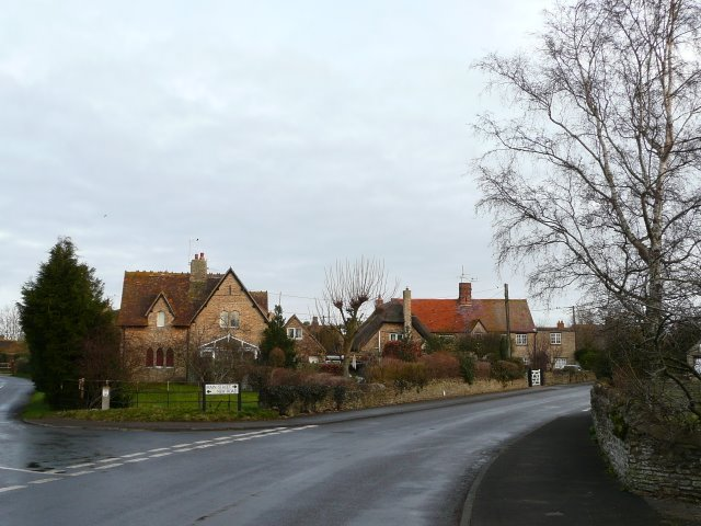 Junction of New Road and Main Street, Charney Bassett