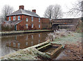 SP2266 : Hatton, canalside house by Andy F
