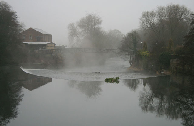 The River Derwent from Milford Bridge
