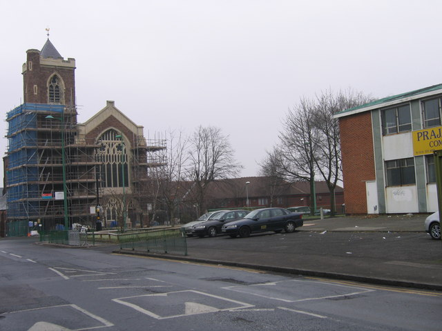 St Paul's Church, Lozells, Birmingham