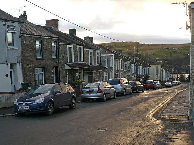 Moriah Street [1], Rhymney