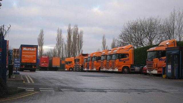 James Nuttall Transport Depot