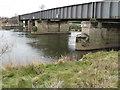 SK4730 : Railway bridge over the Trent by Andy Jamieson
