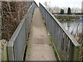 SK4730 : Footbridge over The Trent by Andy Jamieson