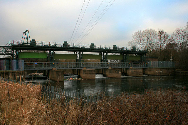 Spondon Sluices