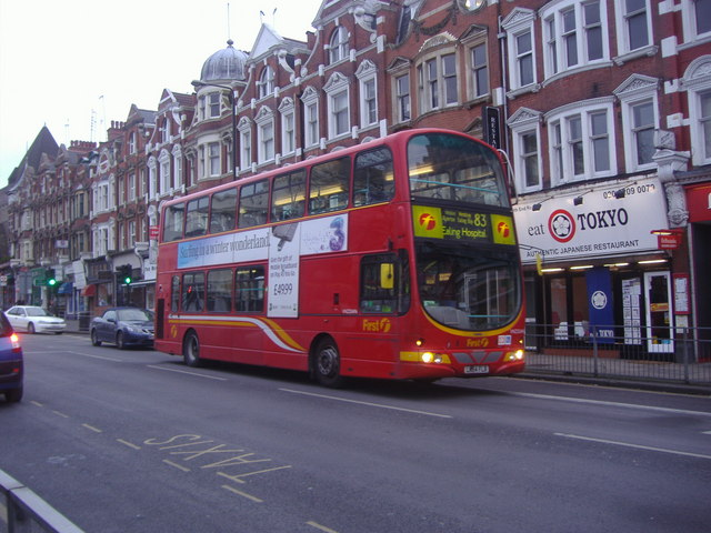83 bus North End Road