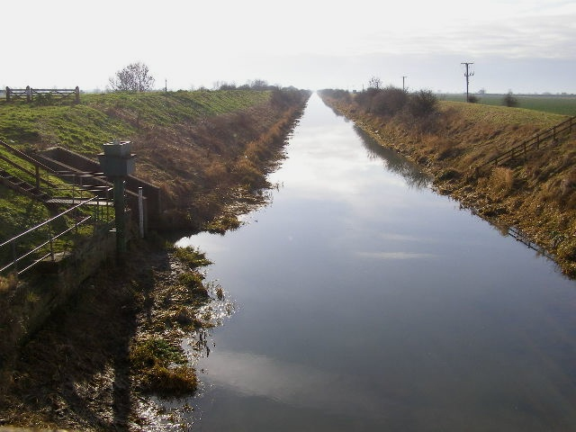 South Forty Foot Drain from Donington High Bridge
