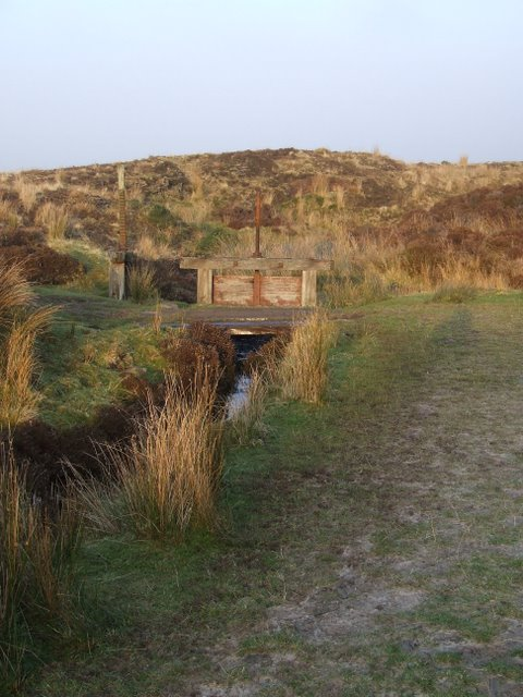 Sluices on Kelly Cut