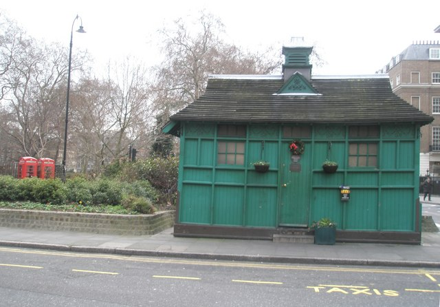 Cabmans shelter in Russell Square