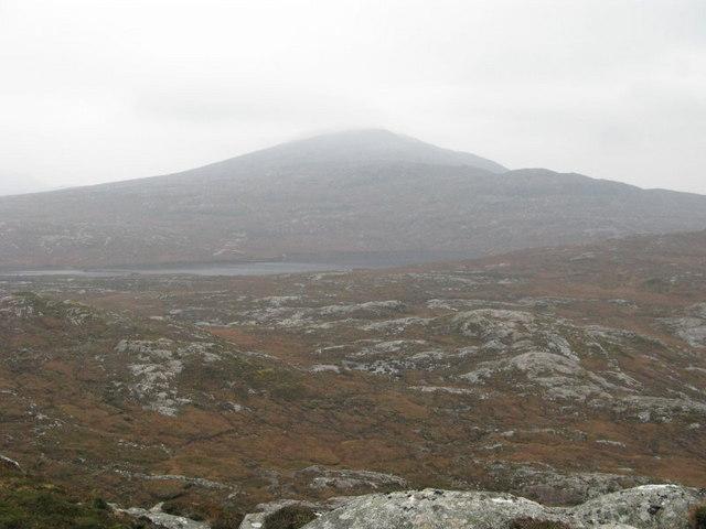 Suaineabhal and Loch  a Phealair Mor