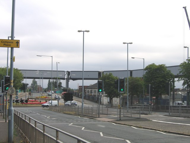 Used Car Factory >> The Rover bridge over the A38 at... © Roy Hughes cc-by-sa ...