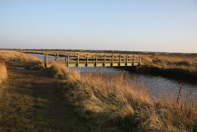 Bridge over Dunwich River