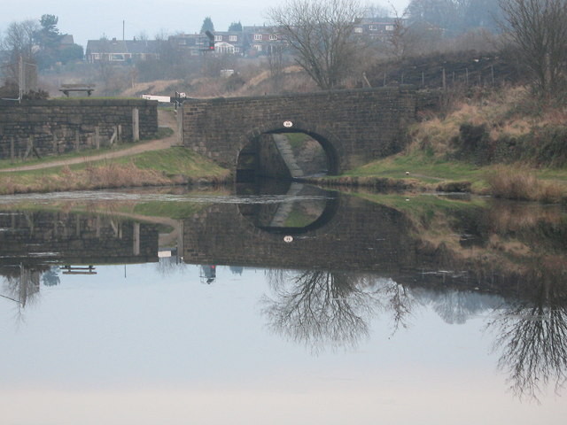 The Huddersfield Narrow Canal Bridge No 69